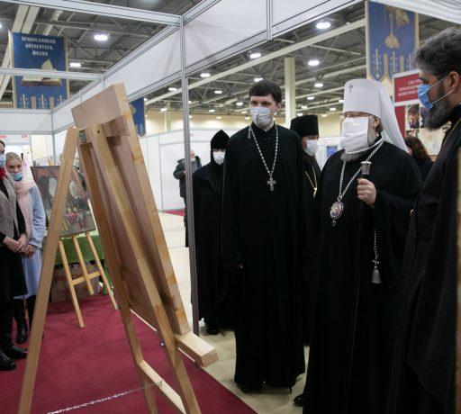 Иконописное отделение Донской духовной семинарии приняло участие в 11-й международной выставке-ярмарке «Дон Православный»