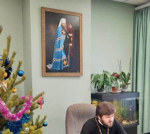 Проректор по воспитательной работе семинарии провел онлайн встречу с воспитанниками духовной школы