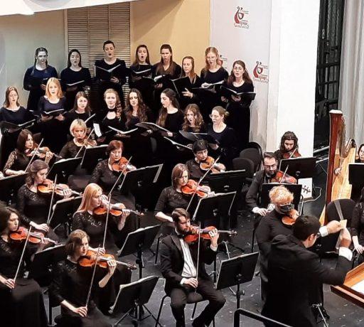 В Большом зале Ростовской областной филармонии выступил ансамбль регентского-певческого отделения Донской духовной семинарии