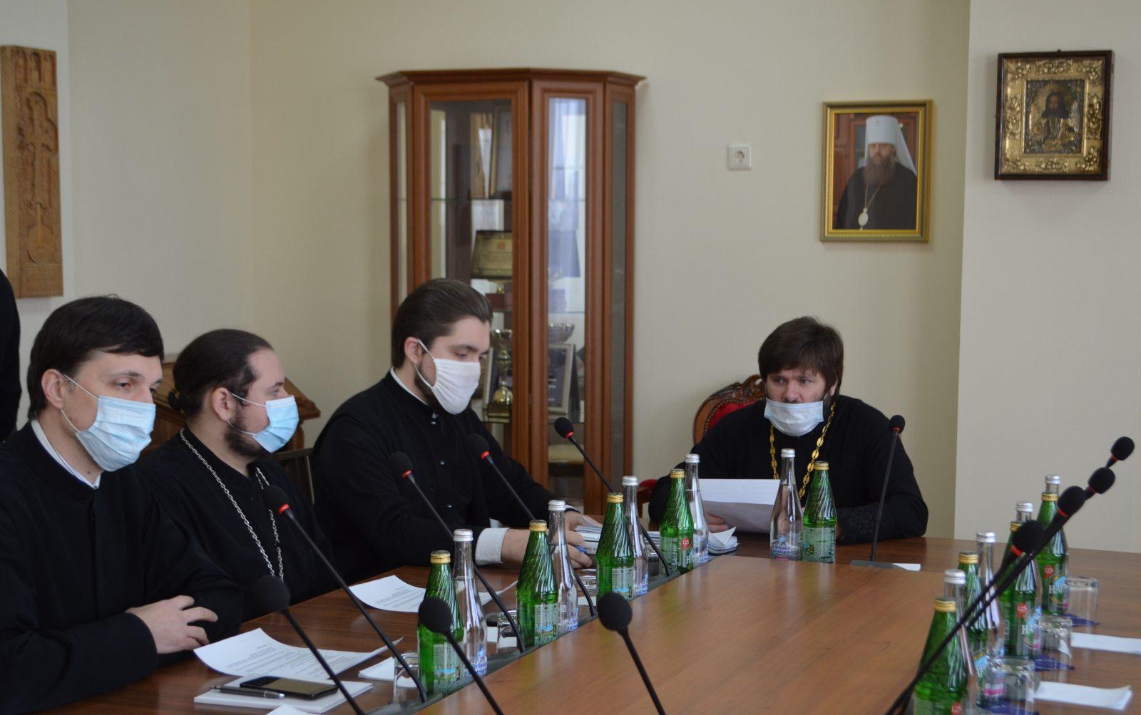 В Донской духовной семинарии по благословению ректора состоялось воспитательское совещание