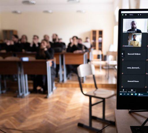 Магистрант ДДС выступил на пленарном заседании национальной научной студенческой конференции в Московской духовной академии