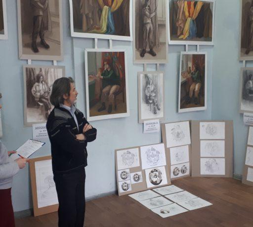 На иконописном отделении Донской духовной семинарии прошли итоговые испытания