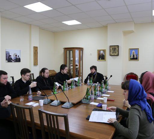 В Донской духовной семинарии по благословению ректора состоялось совещание воспитательной части