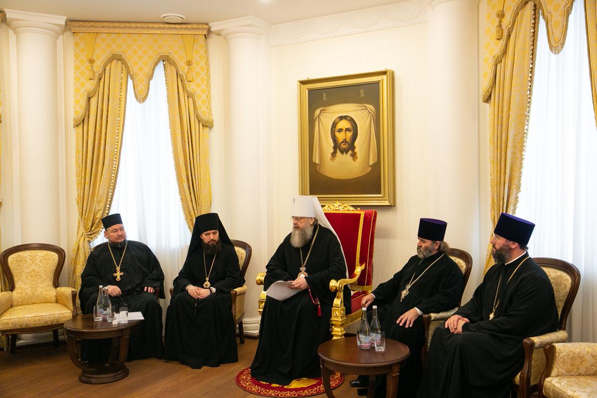 Ректор семинарии принял участие в заседании Епархиального совета