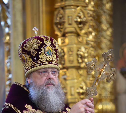 В день памяти святых равноапостольных Мефодия и Кирилла ректор ДДС сослужил Главе Донской митрополии