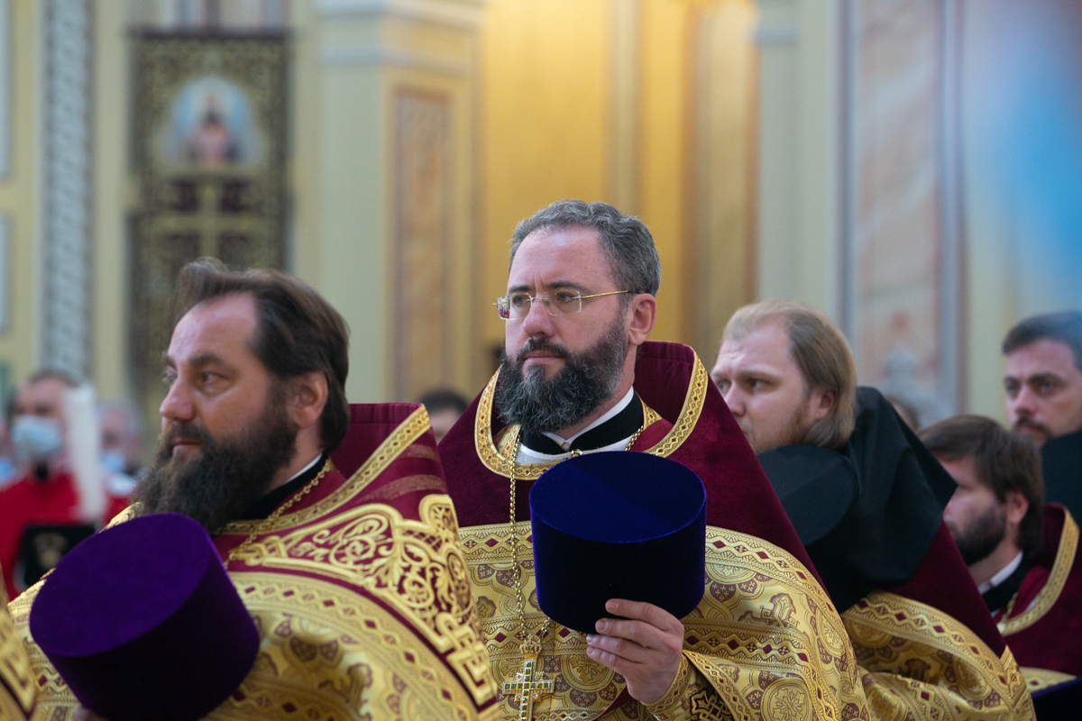 Ректор Донской духовной школы удостоен медали Донской митрополии Русской Православной Церкви «За усердное служение»