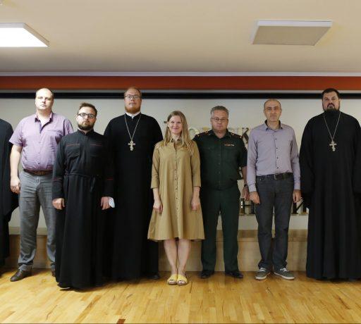 Магистранты первого года обучения встретились с ректором и руководителем магистерской программы Донской духовной школы